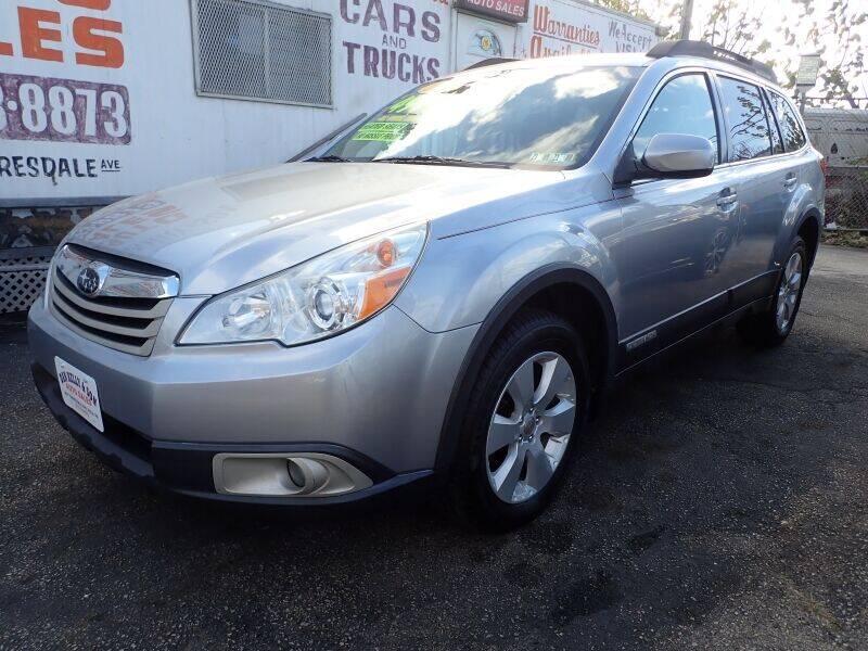 2012 Subaru Outback for sale at Dan Kelly & Son Auto Sales in Philadelphia PA