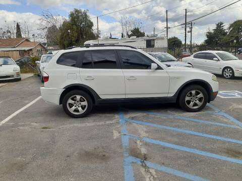 2008 BMW X3 for sale at RN AUTO GROUP in San Bernardino CA