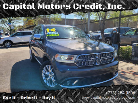2014 Dodge Durango for sale at Capital Motors Credit, Inc. in Chicago IL