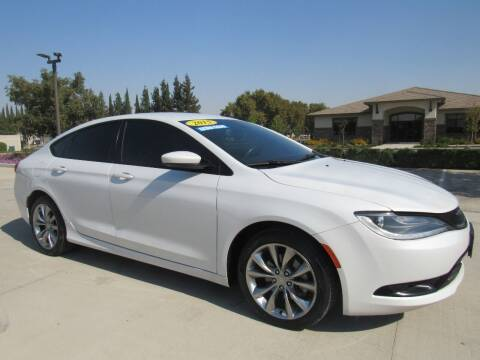 2015 Chrysler 200 for sale at Repeat Auto Sales Inc. in Manteca CA