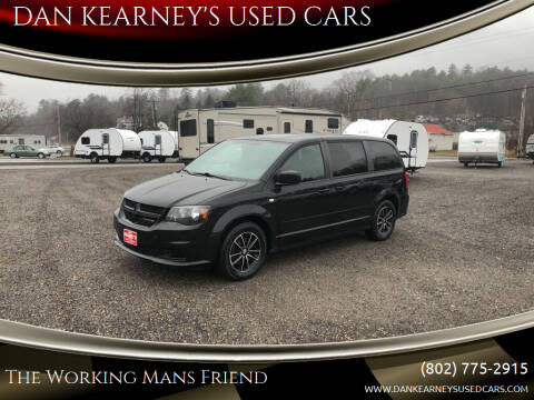 2014 Dodge Grand Caravan for sale at DAN KEARNEY'S USED CARS in Center Rutland VT