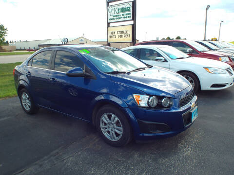 2013 Chevrolet Sonic for sale at G & K Supreme in Canton SD