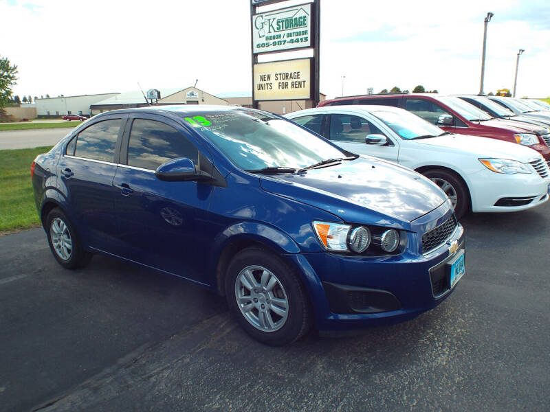 2013 Chevrolet Sonic for sale in Canton, SD