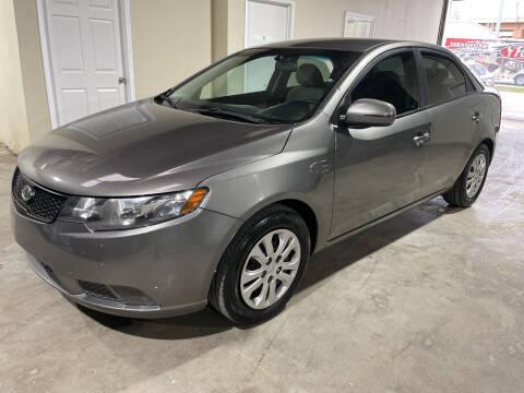 2012 Kia Forte for sale at Safe Trip Auto Sales in Dallas TX