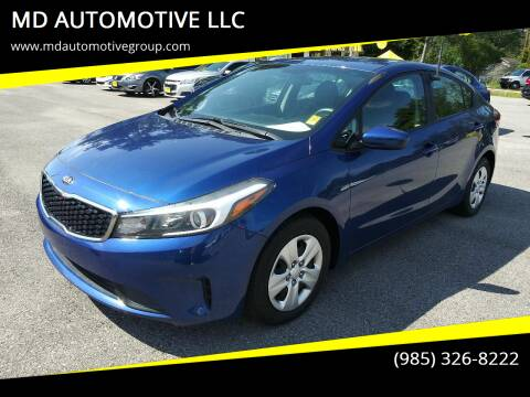 2017 Kia Forte for sale at MD AUTOMOTIVE LLC in Slidell LA