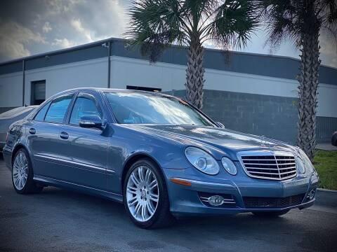 2007 Mercedes-Benz E-Class for sale at FALCON AUTO BROKERS LLC in Orlando FL