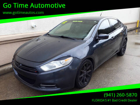 2013 Dodge Dart for sale at Go Time Automotive in Sarasota FL