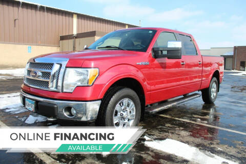 2010 Ford F-150 for sale at K & L Auto Sales in Saint Paul MN