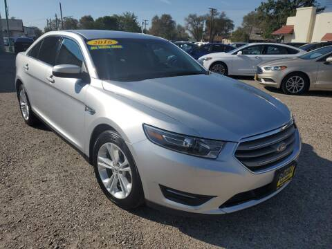 2016 Ford Taurus for sale at CHURCHILL AUTO SALES in Fallon NV