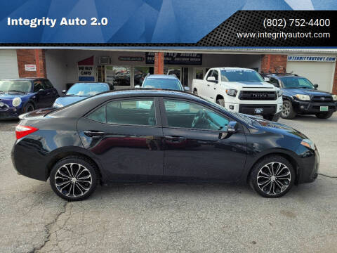 2014 Toyota Corolla for sale at Integrity Auto 2.0 in Saint Albans VT