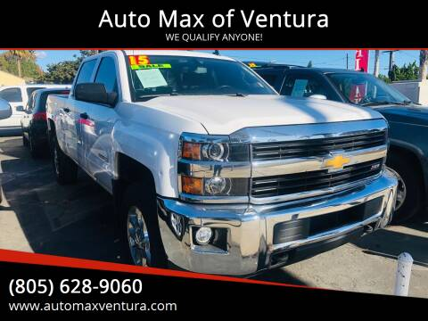 2015 Chevrolet Silverado 2500HD for sale at Auto Max of Ventura in Ventura CA