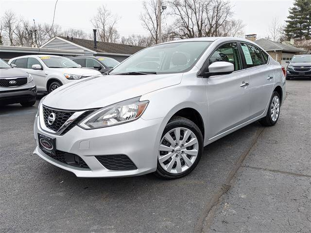 2018 Nissan Sentra for sale at GAHANNA AUTO SALES in Gahanna OH
