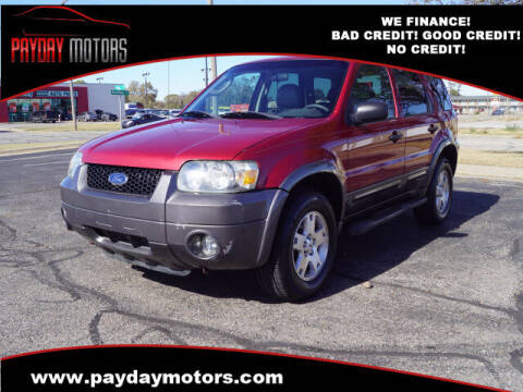 2006 Ford Escape for sale at Payday Motors in Wichita And Topeka KS