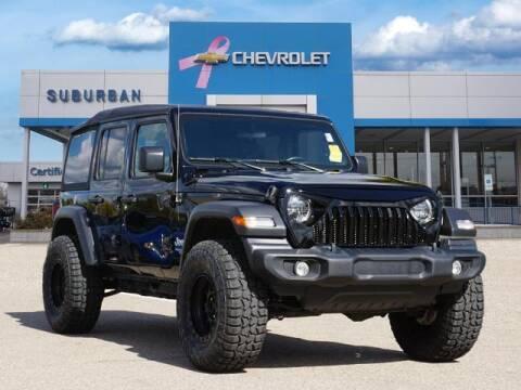 2020 Jeep Wrangler Unlimited for sale at Suburban Chevrolet of Ann Arbor in Ann Arbor MI