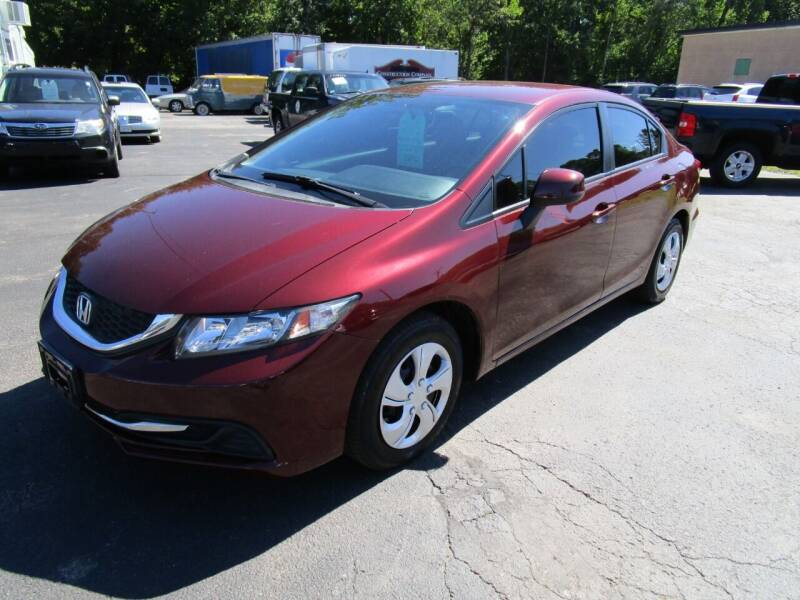 2013 Honda Civic for sale at Route 12 Auto Sales in Leominster MA