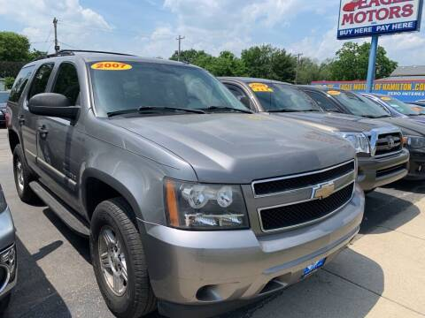 2007 Chevrolet Tahoe for sale at Eagle Motors in Hamilton OH