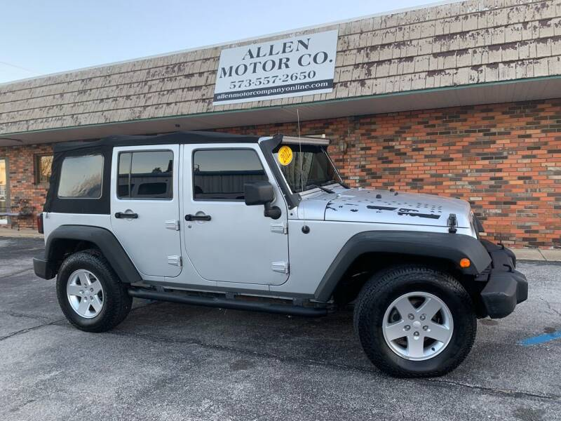 2012 Jeep Wrangler Unlimited for sale at Allen Motor Company in Eldon MO