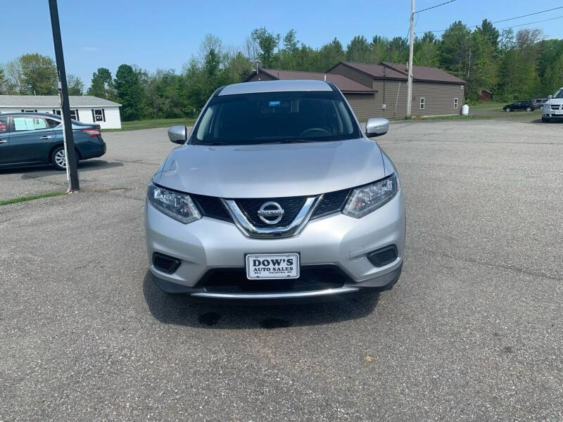 2015 Nissan Rogue for sale at DOW'S AUTO SALES in Palmyra ME