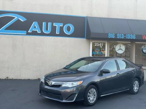 2014 Toyota Camry for sale at Z Auto in Sacramento CA