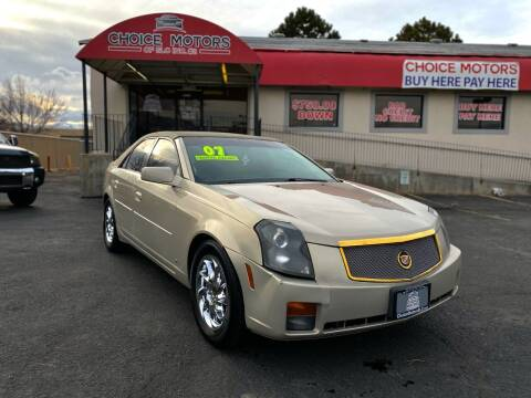 2007 Cadillac CTS for sale at Choice Motors of Salt Lake City in West Valley  City UT