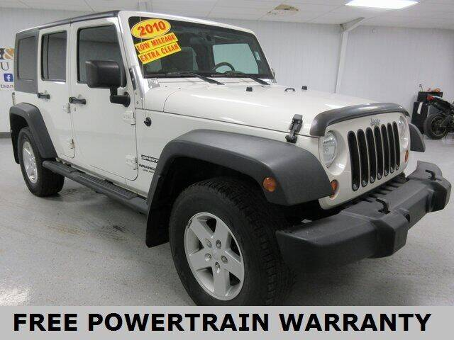 2010 Jeep Wrangler Unlimited for sale at Sports & Luxury Auto in Blue Springs MO