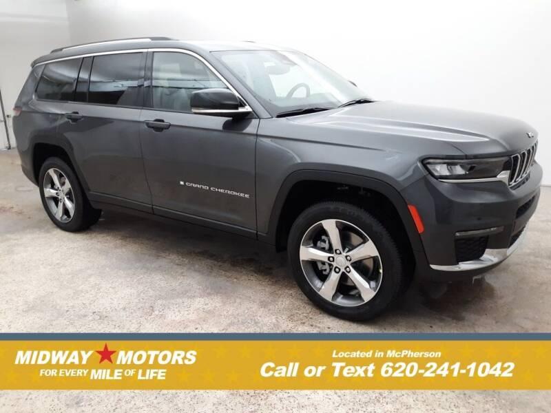 2021 Jeep Grand Cherokee L for sale in Mcpherson, KS