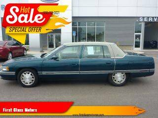 1996 Cadillac DeVille for sale at First Class Motors in Greeley CO