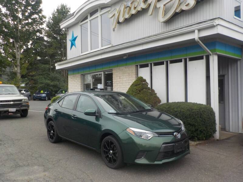 2016 Toyota Corolla for sale at Nicky D's in Easthampton MA