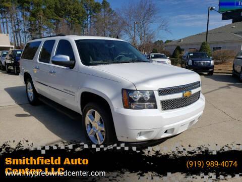 2014 Chevrolet Suburban for sale at Smithfield Auto Center LLC in Smithfield NC