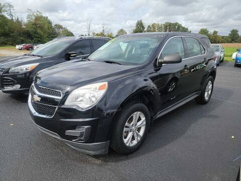 2015 Chevrolet Equinox for sale at Pack's Peak Auto in Hillsboro OH
