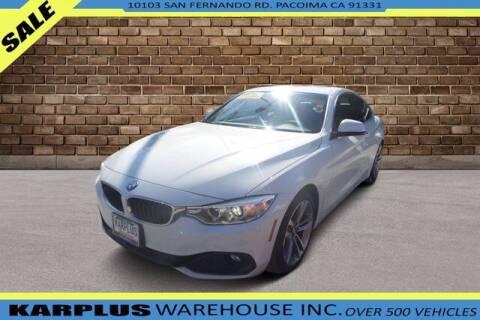 2016 BMW 4 Series for sale at Karplus Warehouse in Pacoima CA
