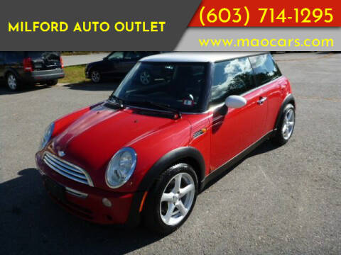 2005 MINI Cooper for sale at Milford Auto Outlet in Milford NH