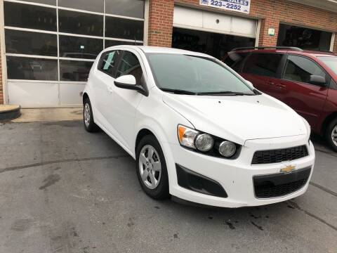 2016 Chevrolet Sonic for sale at Hensley Auto Sales in Frankfort KY