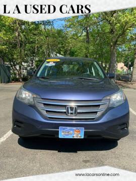 2014 Honda CR-V for sale at L A Used Cars in Abington MA
