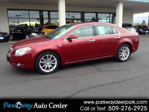 2008 Chevrolet Malibu for sale at PARKWAY AUTO CENTER AND RV in Deer Park WA