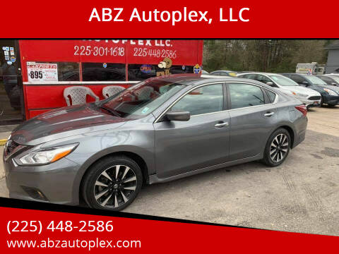 2018 Nissan Altima for sale at ABZ Autoplex, LLC in Baton Rouge LA