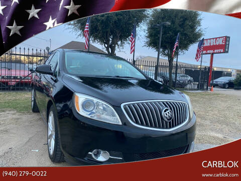 2012 Buick Verano for sale at CARBLOK in Lewisville TX