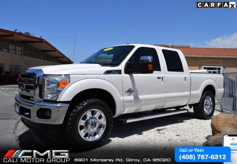 2015 Ford F-250 Super Duty for sale at Cali Motor Group in Gilroy CA