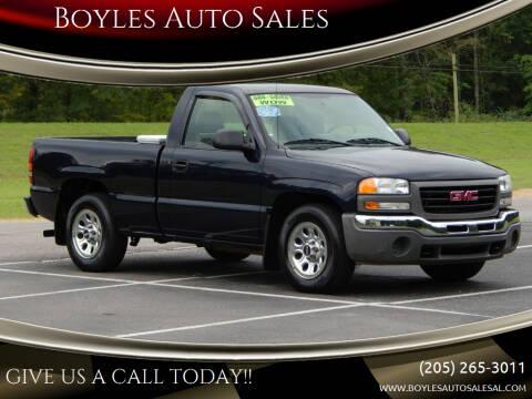 2005 GMC Sierra 1500 for sale at Boyles Auto Sales in Jasper AL
