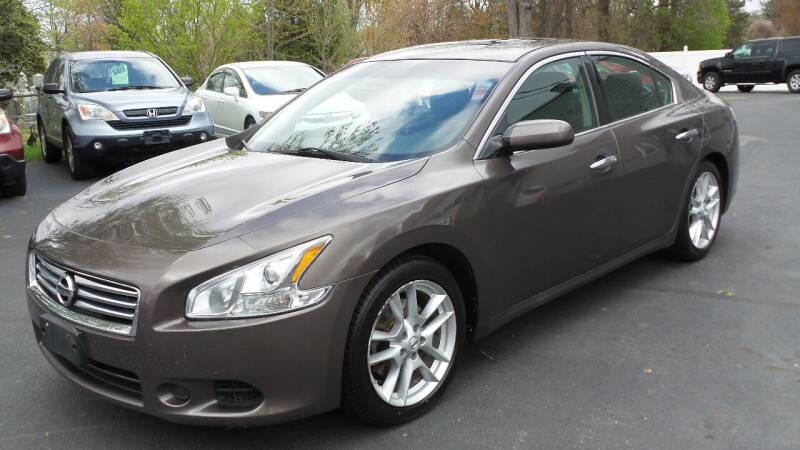 2013 Nissan Maxima for sale at JBR Auto Sales in Albany NY