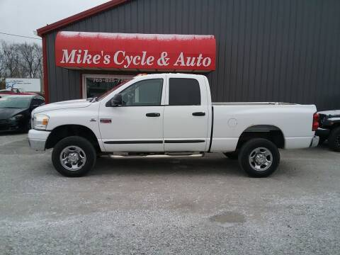 2007 Dodge Ram Pickup 2500 for sale at MIKE'S CYCLE & AUTO in Connersville IN