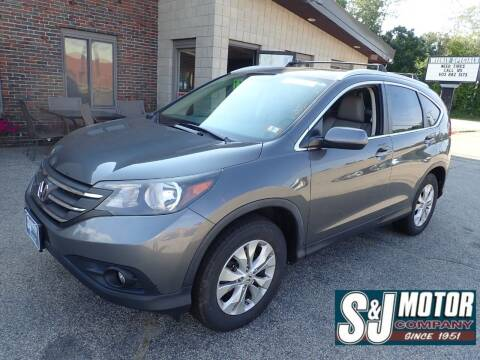 2013 Honda CR-V for sale at S & J Motor Co Inc. in Merrimack NH