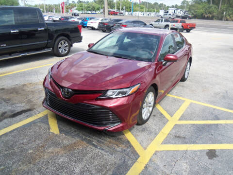 2018 Toyota Camry for sale at ORANGE PARK AUTO in Jacksonville FL