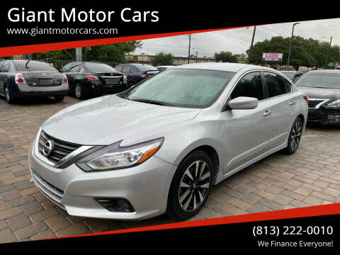 2018 Nissan Altima for sale at Giant Motor Cars in Tampa FL