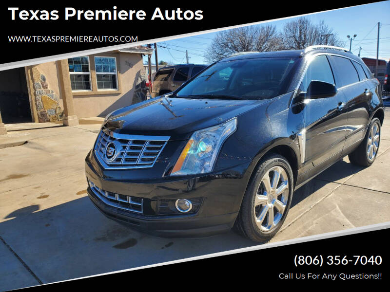 2015 Cadillac SRX for sale at Texas Premiere Autos in Amarillo TX