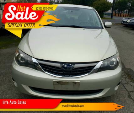 2009 Subaru Impreza for sale at Life Auto Sales in Tacoma WA