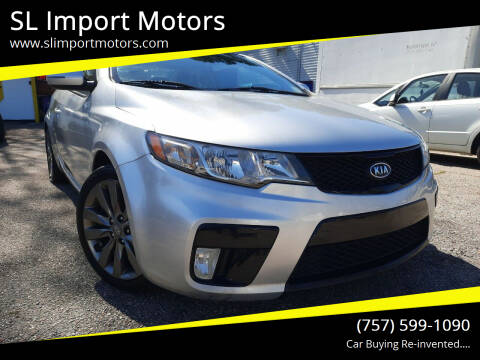 2013 Kia Forte Koup for sale at SL Import Motors in Newport News VA