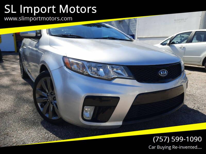 2013 Kia Forte Koup for sale at SL Import Motors in Newport News VA