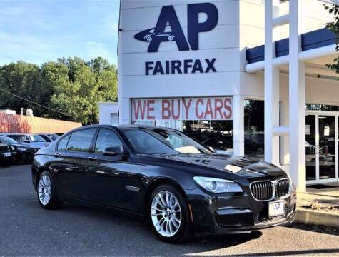 2014 BMW 7 Series for sale at AP Fairfax in Fairfax VA