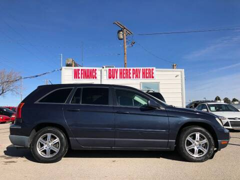 2007 Chrysler Pacifica for sale at Eastside Auto Sales in El Paso TX